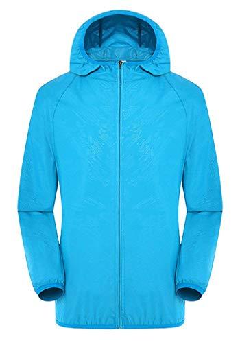 Lunga Protezione Huixin Costume Jacket Himmelblau Colori Primaverile Outdoor Softshell Donna Manica Solidi Casuale Autunno Incappucciato Giacca Cappotto Solare Uv Sw8S4q7