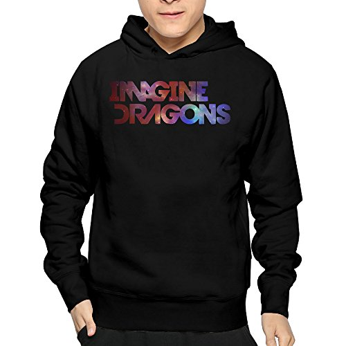 Mens Imagine Dragons Band Logo PulloverHoodies Sweatshirts Lightweight