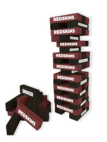 Wild Sports NFL Washington Redskins Table Top Stackers Game - Nfl Wild Card