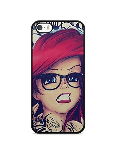 Coque Iphone 6 / 6s Disney princesse tatoué case ariel white snow Alice REF10364