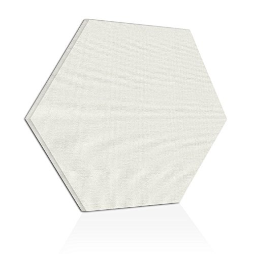 "[2-Pack] ADW Acoustic Panels 24"" X 24"" X 2"" Hexagons – Quick, Easy DIY Install – See Our Many Colors by Acoustic Design Works"