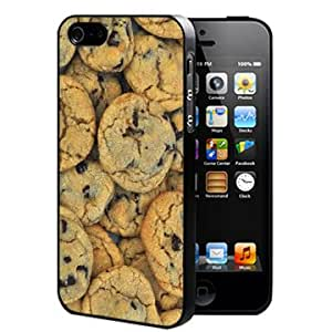 Chocolate Chip Cookies Pattern (iPhone 4/4s) Hard Snap on Phone Case Cover