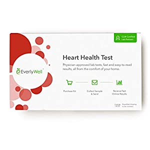 EverlyWell – Heart Health Test – Understand Your Risk Factors for Heart Disease (Not Available in NY, NJ, RI)