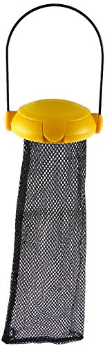 Gardman BA04820A Yellow Flip Top Thistle Feeder Mesh Bag, 4