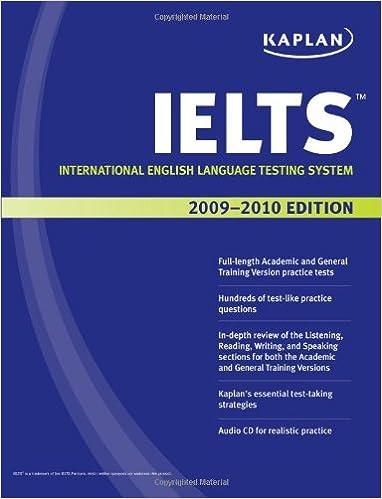 Image result for Kaplan IELTS 2010 Edition