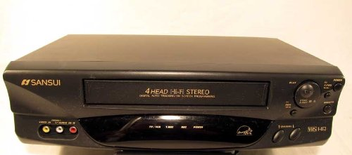 Sansui VHF6010, 4-Head HiFi Stereo VCR