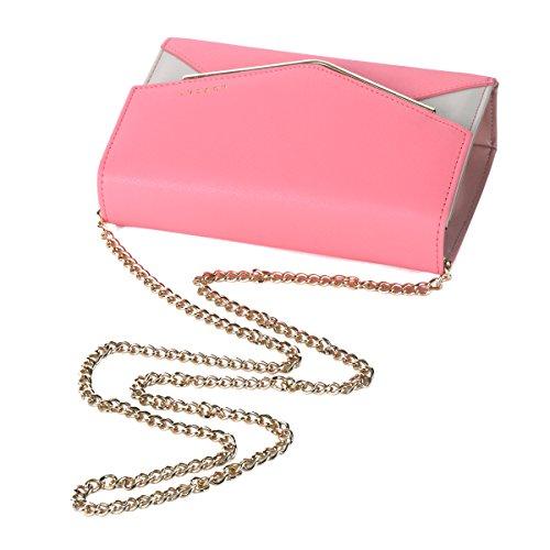 Contrast Blue Envelope Shoulder Damara Square Splice Color Bag Light Womens qnwxvCWST