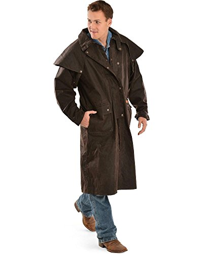 Outback Trading Waterproof Oilskin Low Rider Duster