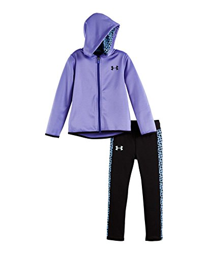 Under Armour Baby' Active Hoodie and Legging Set, Violet Storm, 3-6 Months