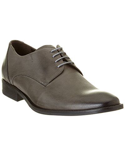 Oxford New US 9 5 Cole Up Textured Grey York M Leather Mens Measure Kenneth gzwnvq5Ox5