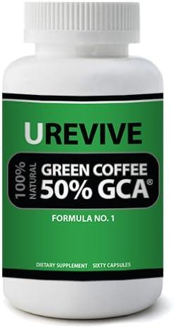 Amazon Com Urevive Green Coffee Bean Extract With Gca 100