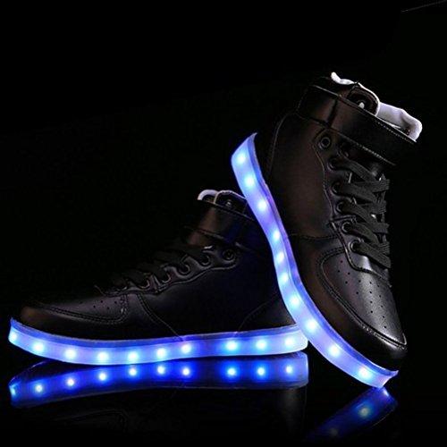 Deportivos o Ni LUZ Zapatillas a Zapatos Ni Multicolor Baile c41 Presente Toalla Para Carga a Fiesta LED Peque Danza Para con junglest Brillantes nX68x