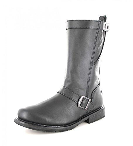 Harley Davidson Biker Boots Boots Engineer Vincent D93067 Black Black Black