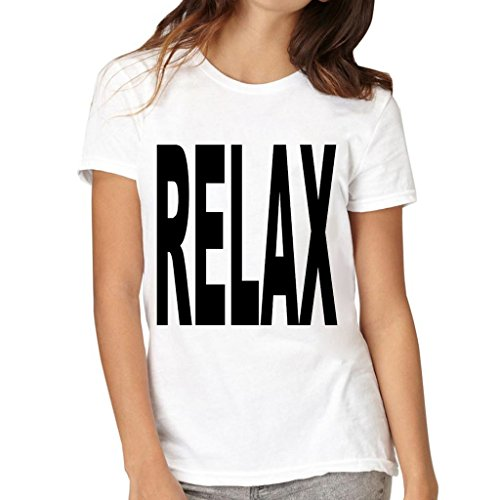 VetiVer Women's Relax T-Shirt XX-Large White (What To Wear To 80s Party)
