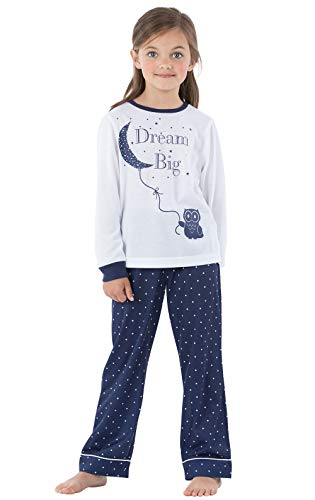 PajamaGram Big Girls PJs Set - Pajama Sets for Girls, Kids Pajamas