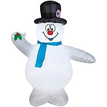 Amazon.com: Frosty el muñeco de nieve Navidad Hinchable 3 1 ...