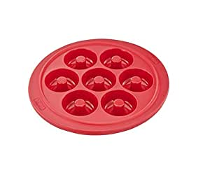 Tefal Proflex Silicone 7 Mini Donuts Bakeware, Red J4092554