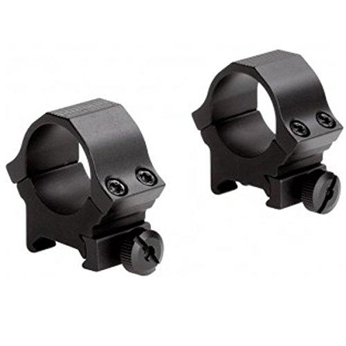 Sun Optics USA Standard Dovetail Sport Ring, Medium (1-Inch, Matte (Standard Dovetail Rings)
