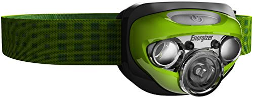Energize LED AAA Headlamp with HD+ Vision Optics, 4 Modes Flashlight 50 Hour Run Time, 250 Lumens (Batteries Included)