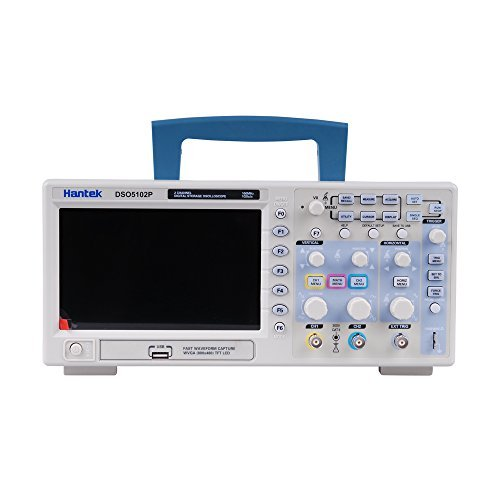 Amazon.com - Hantek DSO5102P Digital Storage Oscilloscope 2Channels 100MHz 1GSa/s