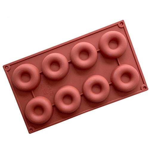 1 piece Rushed New Ciq Fondant Cookie Cutter Soap Mold 8 Hole A Donut Cake Mold Soap Angel Circle Pudding Muffin Decorating Tools -