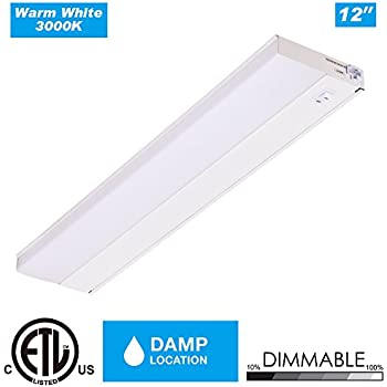 little inch under cabinet lighting. cloudy bay lucl12630whd90 12 inch led under cabinet light hardwired with plug indimmable 6w little lighting