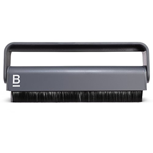 Carbon Fiber Anti-Static Vinyl Record Cleaning Brush