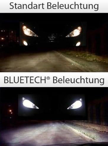 Bluetech 2x Plus H3 55w 9500k Xenon Effekt Mit Stvzo Zulassung Auto