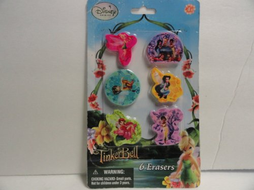 [Disney Fairies Tinkerbell Erasers] (Tinkerbell Erasers)