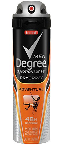 Degree Men sec Déodorant Spray, Aventure, 3,8 once