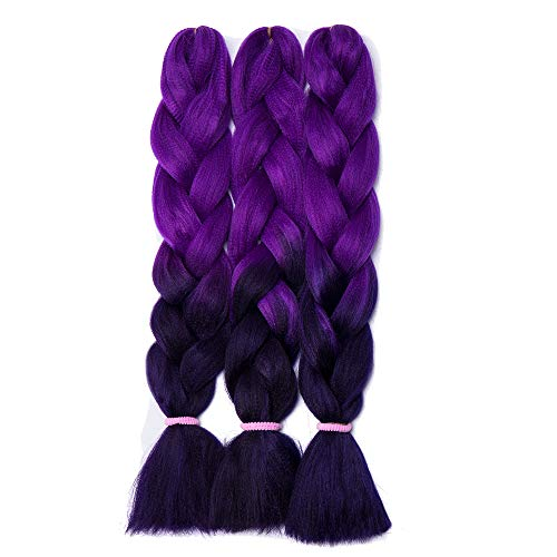Hair Extensions & Wigs Constructive Plecare 82 Inch 165g Jumbo Braids Synthetic Kanekalon Braiding Hair Extensions Blue Pink White Color Fiber Crochet Hair Special Buy