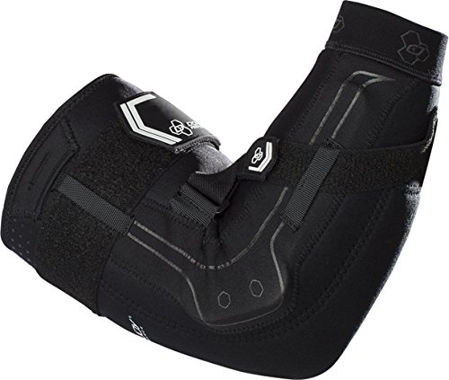 DonJoy Performance Bionic Elbow Brace - Maximum Hinged Support for Elbow Hyperextension, UCL, Tommy John Ligament Injury, Dislocated Elbow for Football, Lacrosse, Rugby, Basketball