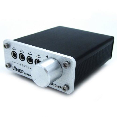 LINE5 Multi-channel Headphone Audio Signal Switcher Stereo Headphone Amplifier Black