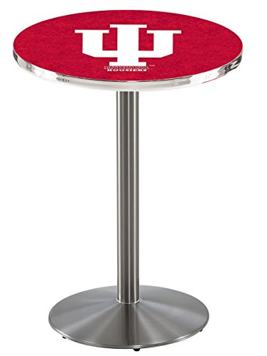 Holland Bar Stool L214S Indiana University Officially Licensed Pub Table, 28