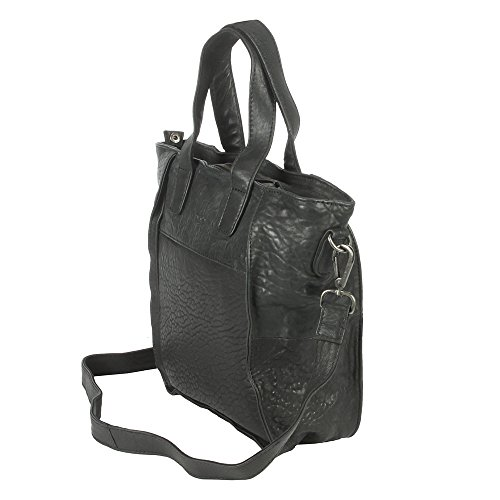 Voi Borsa Messenger, nero (Nero) - 30436 cotton