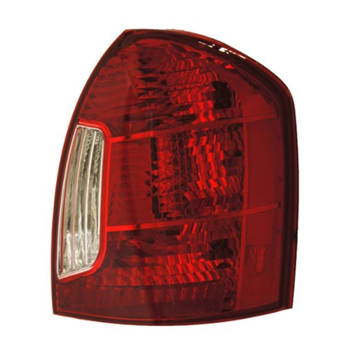 Hyundai Accent Sedan Replacement Tail Light Assembly - Passenger Side