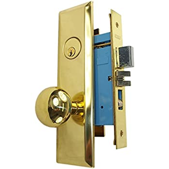 Maxtech Grade 2 Nyc Apartment Entry Mortise Lockset Like