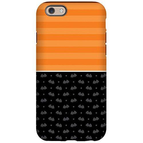 Half Bat (CafePress - Half Stripe Bat Pattern - iPhone 6/6s Phone Case, Tough Phone Shell)