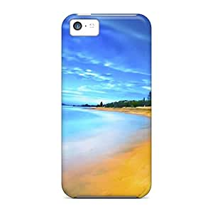 Pretty ItK7234JwBx Iphone 5c Cases Covers/ Amazing Holiday Beach Series High Quality Cases