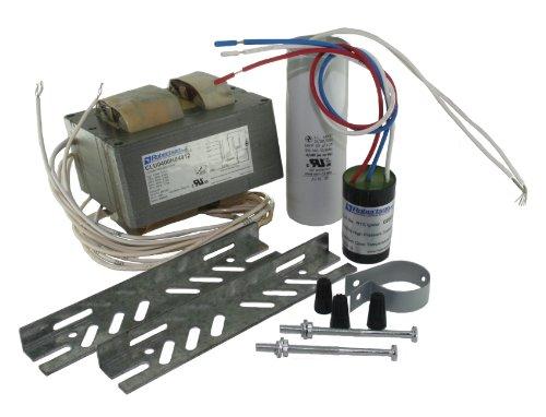 ROBERTSON 3P10062 CLU0400H04912 M HID CWA, mBallast Kit, 400 Watt, S51 High Pressure Sodium Lamp, 120/208/240/277Vac, 60Hz, HPF, with Bracket, Round Ignitor, Round Dry Film Capacitor (Replaces Model CLU0400H04912 ROBERTSON 3P10012) 400w High Pressure Sodium Ballast