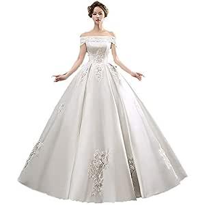 Vestidos de novia Mujeres fuera del hombro vestido de novia ...