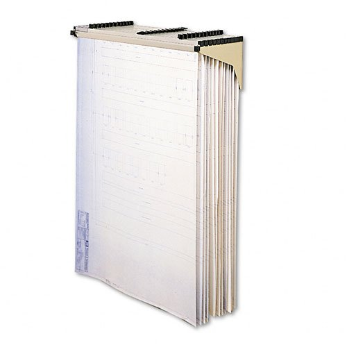 Safco : Sheet File Drop/Lift Wall Rack, 12 Pockets, 12d -:- Sold as 2 Packs of - 1 - / - Total of 2 Each