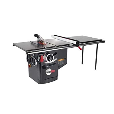 SawStop ICS31230-52 3HP 230V 60Hz Cabinet Saw with 52-Inch Industrial T-Glide Fence System