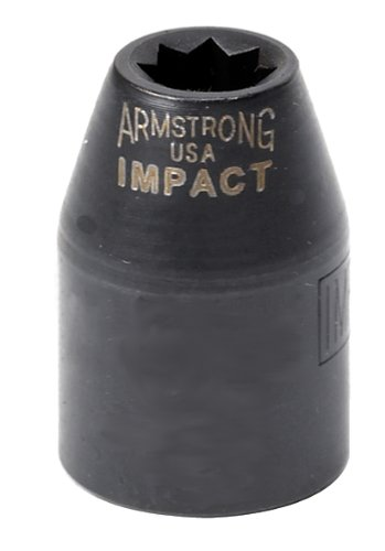Armstrong 46-311 3//8-Inch Drive 12 Point Impact Socket 11mm Cooper Tools