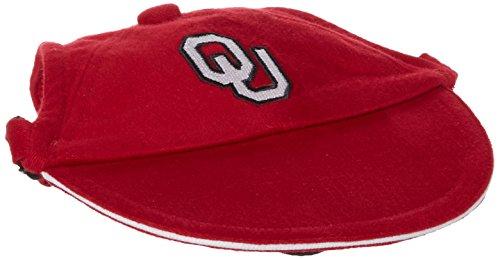 Oklahoma Dog Pet Football Jersey (Sporty K9 Collegiate Oklahoma Sooners Dog Cap, Large)