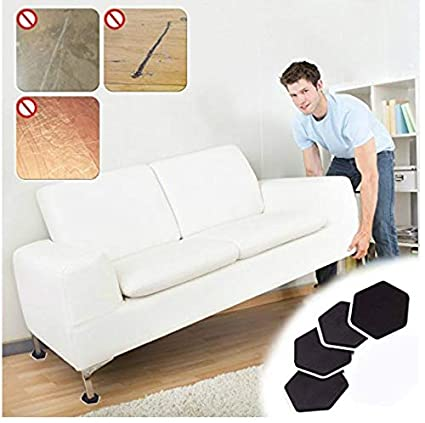 Amazon.com: AdvancedShop 4Pcs Furniture Moving Sliders Mover Pads Moving Furniture Gliders Hardwood Floor Protectors Carpet Flooring Coaster Furniture ...