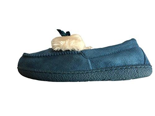 Jyoti - Zapatillas de estar por casa para mujer Azul