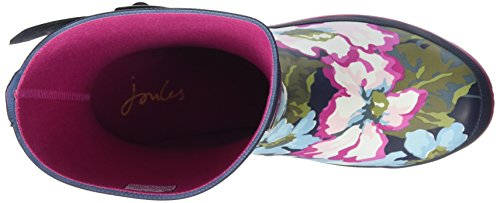 Navy Di Welly exclusive Floral Donna Stivali Gomma Joules Blue Molly F4tw88