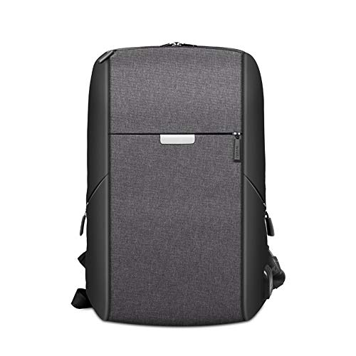 WIWU Business Laptop Backpack 15.6 inch, Anti-Theft Travel Backpack with USB Charging Port,Water Resistant College Computer Bag for Women & Men,15/15.4/14/13.9/13.5/13.3 inch (15 inch, Black)
