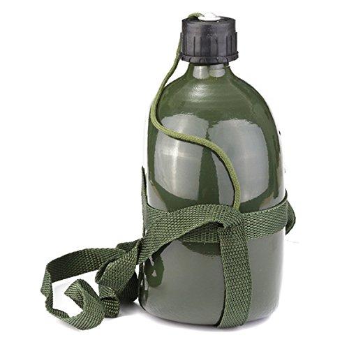 Wandern FriTooL Wasserflasche f/ür Radfahren 2 l Camping